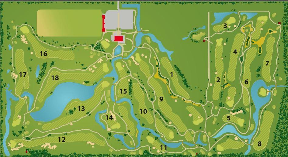 Harderwold plattegrond